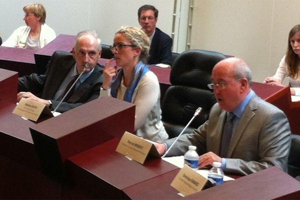 Delphine Batho au Conseil Régional de Bretagne