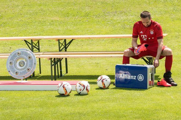 Franck Ribéry n'a plus mis un pied sur un terrain depuis le 11 mars dernier