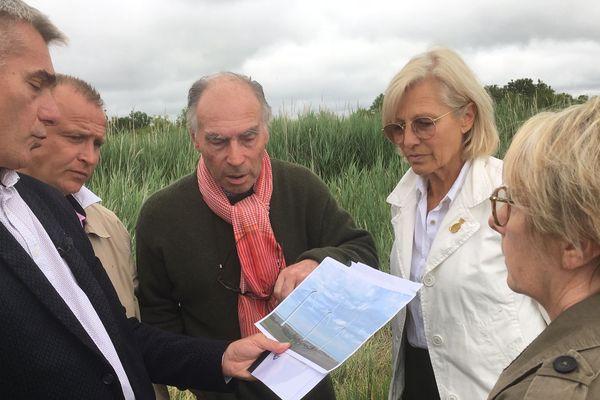 Les opposants au projet de parc éolien se mobilisent