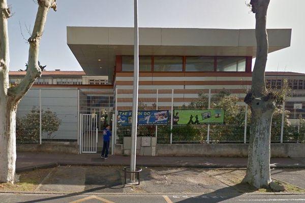 Le collège Camille-Claudel de Montpellier - archives