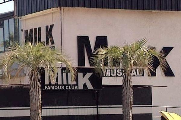 """Montpellier - la discothèque le """"Milk"""" où le jeune Salah a été tué en mai - 2013"""