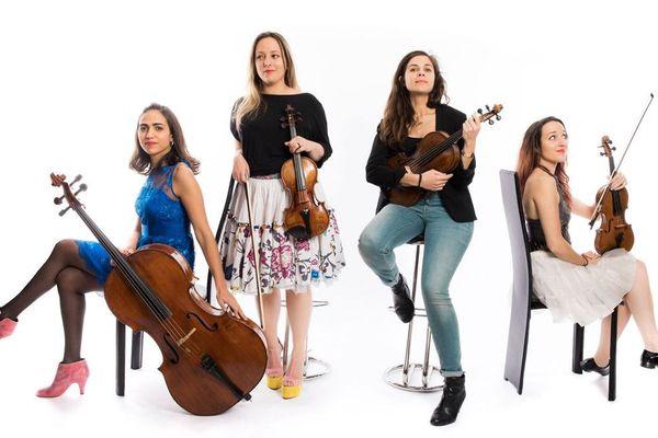 Le Quatuor Zaïde