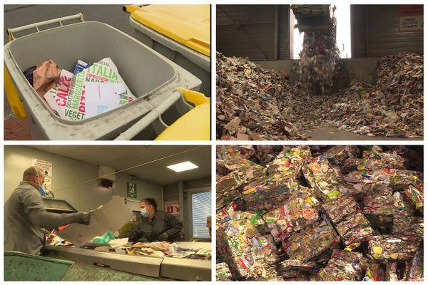 Le dépôt de vos déchets recyclables dans la poubelle jaune n'est que le début de leur parcours.