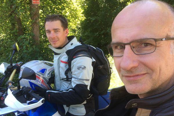 Emmanuel Cadiou et Arnaud Vibien
