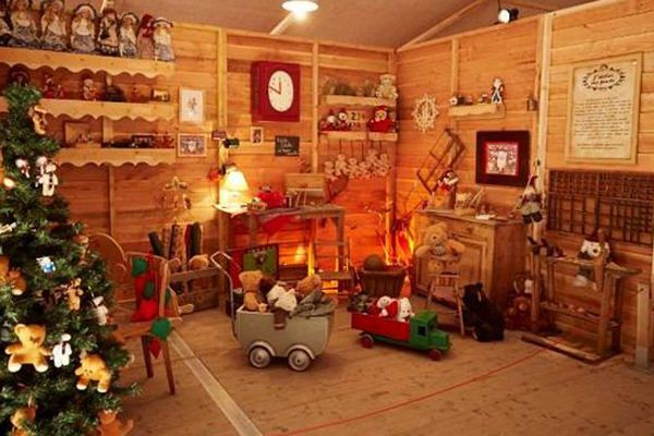 La maison du Père Noël à Toulouse