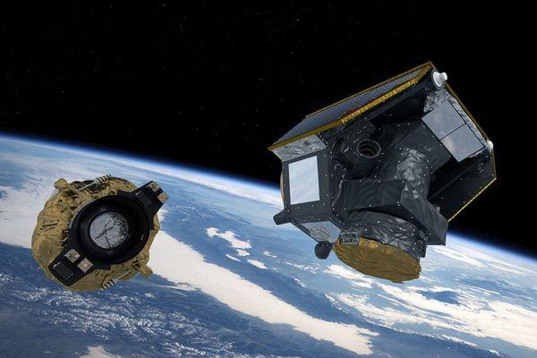 illustration de satellite