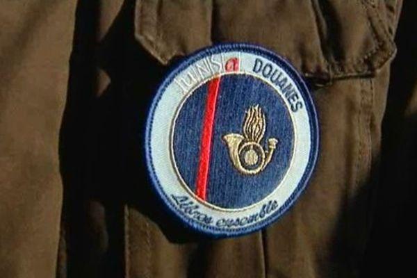 L'insigne des agents des douanes
