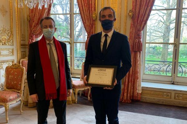 """Le maire de Montpellier a été nommé """"élu local de l'année"""" par un jury de journalistes politiques."""