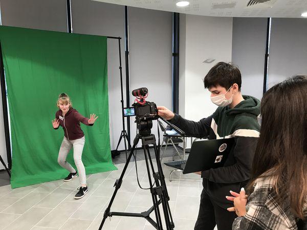 Atelier réalisation de courts-métrage.