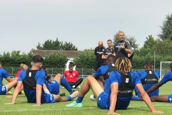 Chamois Niortais à l'entraînement-23 juillet 2021