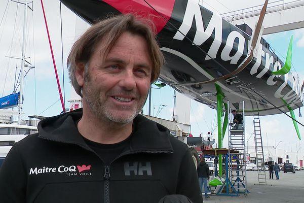 Le vainqueur du dernier Vendée Globe reste discret sur son avenir. A priori, ça devrait se passer sur l'eau...