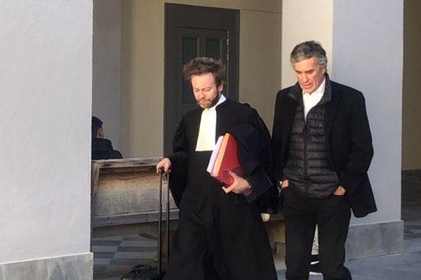 Jérôme Cahuzac le 19 mars lors de son audience à la cour d'appel de Bastia