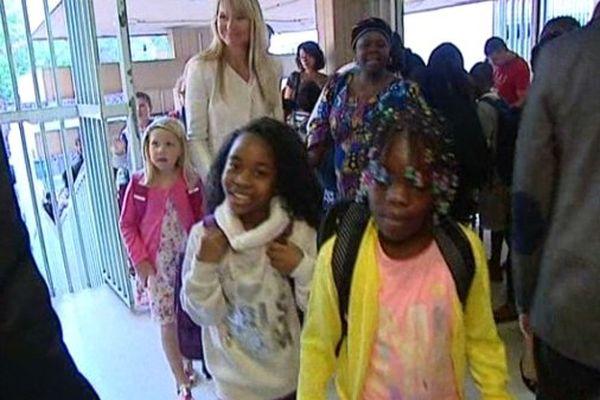 La rentrée scolaire dans une école primaire du 14e arrondissement