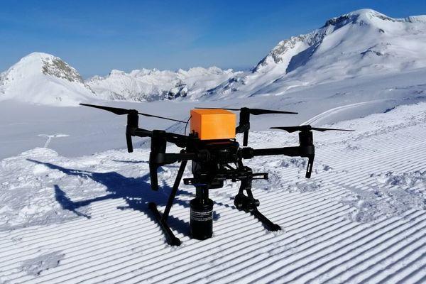 Le drone créé par Nivitec.