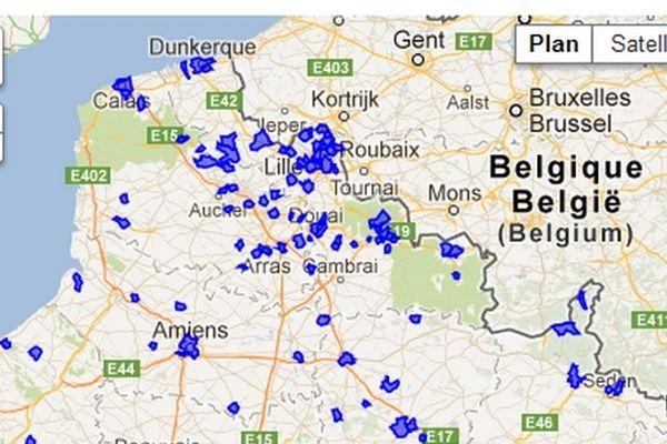 Le Nord pas de Calais est touché par l'épidémie de grippe
