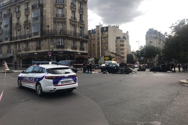 L'accident est survenu à deux pas de la maison de la Radio et de la Musique.