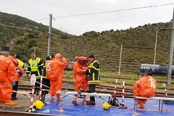 La cellule chimique des sapeurs-pompiers des Pyrénées-Orientales