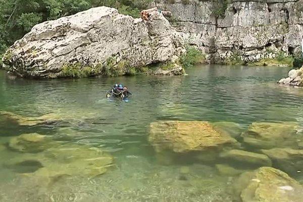 En Lozère, au Pas de Soucy, dans les gorges du Tarn, vous pouvez découvrir une vie sous-marine exceptionnelle - 1er août 2017