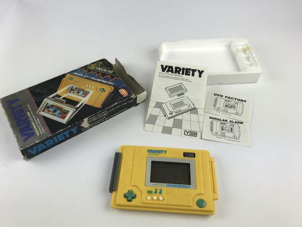 D'anciennes consoles de jeu seront en vente.