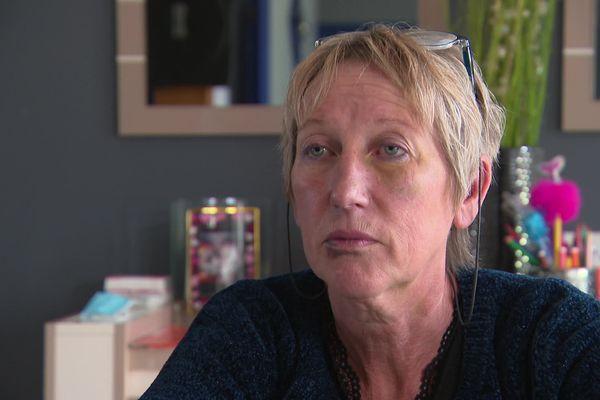 Catherine Poirier, accusée d'avoir tué son ex-mari dans la nuit du 19 au 20 septembre 2021 à Maisnières dans la Somme