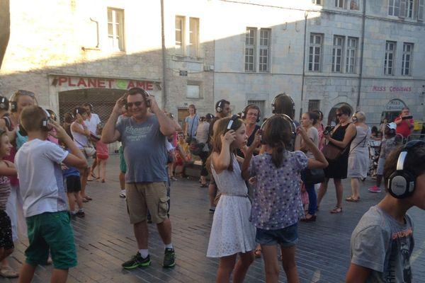 Silent Party à Besançon