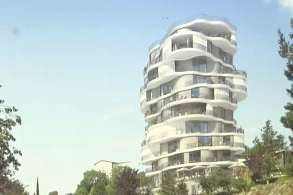 La future folie architecturale de Montpellier