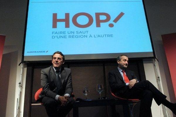 La conférence de presse de janvier 2013 annonçant la création de HOP !