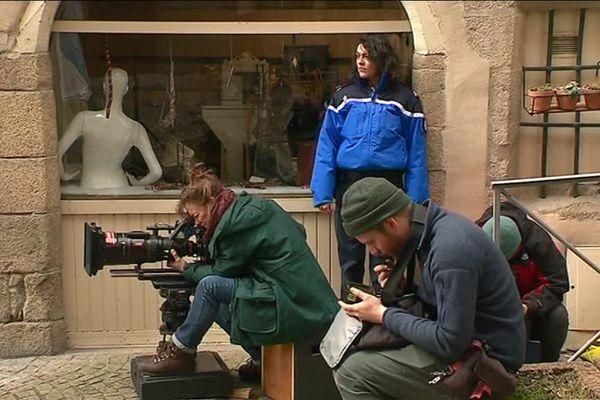 """La série """"Meurtre à..."""" en tournage dans les rues de Tulle"""