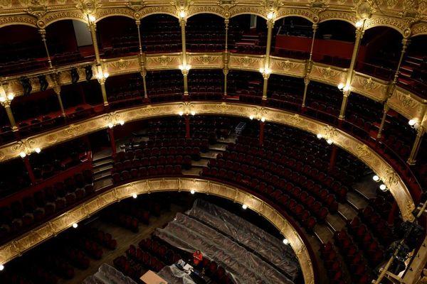 Le chantier du Théâtre du Châtelet est l'un des plus importants de la Ville de Paris ces dernières années.