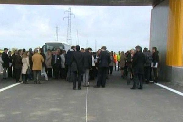 Au total une centaine d'élus étaient présents.