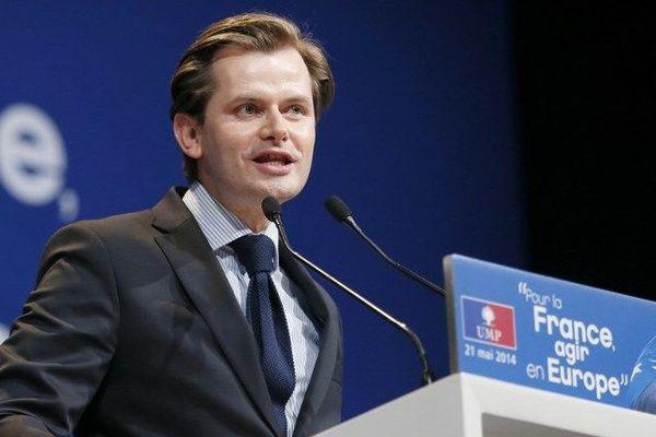Guillaume Larrivé, député de la 1re circonscription de l'Yonne et secrétaire national de l'UMP