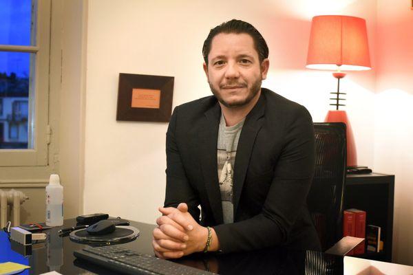 Jean-Baptiste Alary est l'un des trois avocats de Cédric Jubillar dans cette affaire.