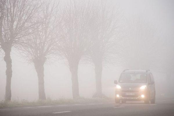 La visibilité sera réduite sur les routes de Normandie demain encore.
