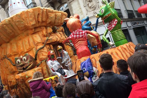 Le carnaval de Nantes, le 8 avril 2018