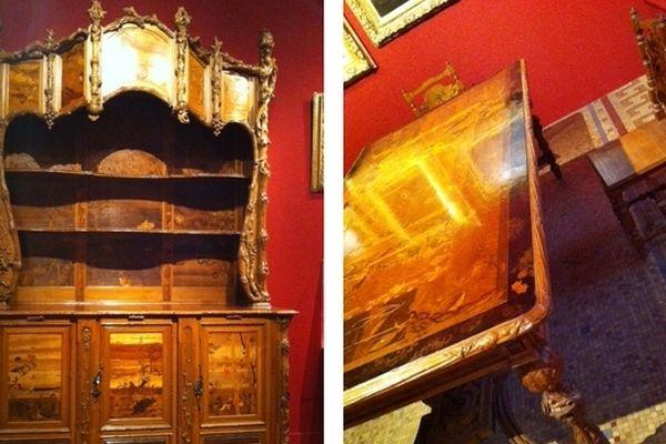 Mobilier d'Emile Gallé (salle à manger Henry Vasnier)