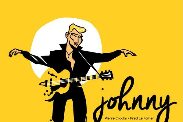 """La couverture de l'album """"Johnny"""" pour enfants de 7-8 ans."""