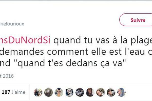 Le hashtag #TuViensDuNordSi, un symbole d'autodérision