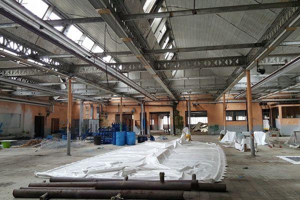 L'usine Mas de Bort-les-Orgues, là où se trouvaient des centaines de couturières