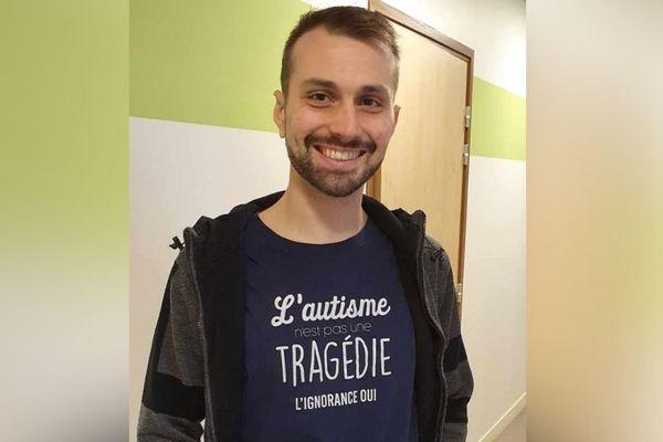 Esteban Chalois, président du GEM Autisme de l'Oise
