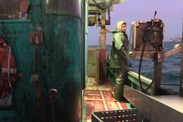 Julien Boursault est matelot à bord du Flipper.