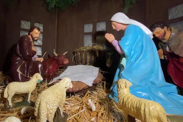 Cela fait 80 ans que ces personnages prennent place dans l'église du village