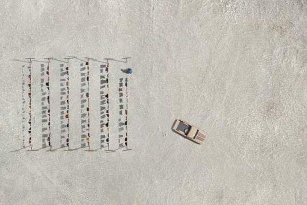 Image capturée du film Eden's Edge (Three Shorts on the Californian desert) qui a reçu le grand prix par le jury du Labo.