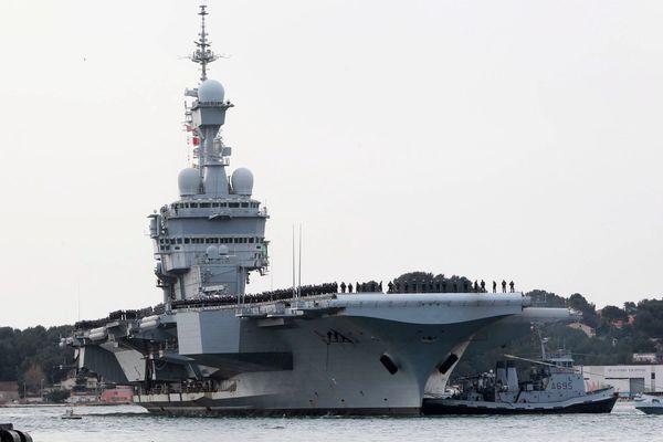 La base navale de Toulon.
