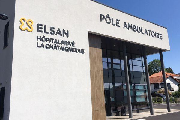 Depuis le 1er décembre 2014, la clinique de la Châtaigneraie à Beaumont a été rebaptisée d'hôpital privé