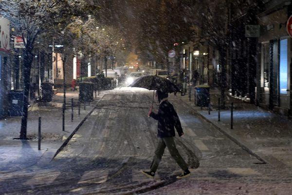 La neige devrait revenir dans la région dans la nuit du dimanche au lundi 2 décembre (Photo d'illustration).