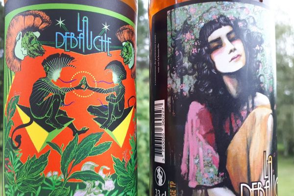 """Recettes surprenantes et étiquettes originales, c'est la marque de fabrique des bières de """"La débauche"""" à Angoulême."""