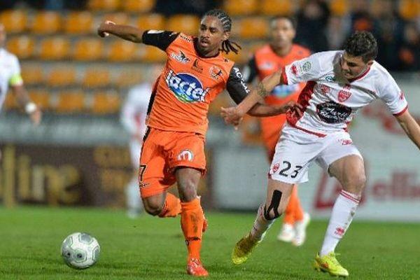 Match Laval-Nîmes. Archives.