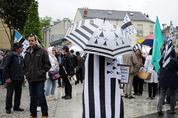 Dans les rues de Nantes ce samedi.