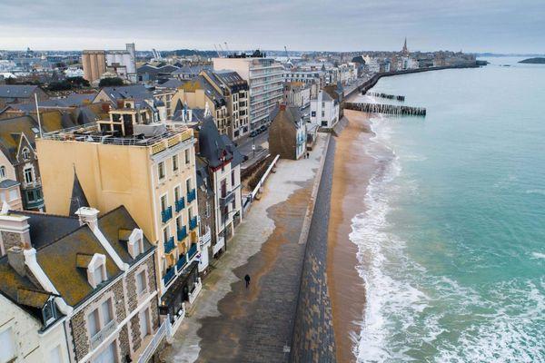 Saint-Malo et ses remparts