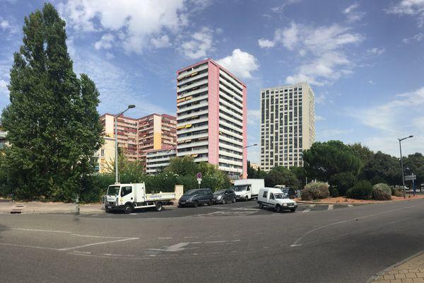 La victime habite le quartier de la Mosson, au nord de Montpellier.